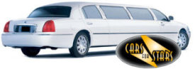 Limo Hire Baxley - Cars for Stars (Tunbridge Wells) offering white, silver, black and vanilla white limos for hire