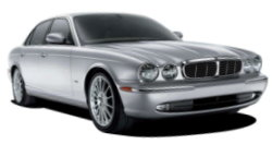 Chauffeur driven cars in Tunbridge Wells area, including the long wheel based version of the new Jaguar XJ