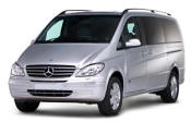 Chauffeur driven Mercedes Viano people carrier - Up to 7 passengers in comfort, from Cars for Stars (Tunbridge Wells)
